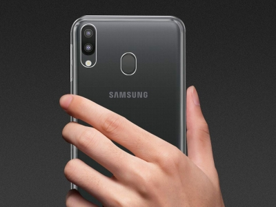 Силиконов гръб за Samsung Galaxy M20 , Прозрачен