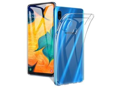 Силиконов гръб за Samsung Galaxy A30 (SM-A305F), Прозрачен