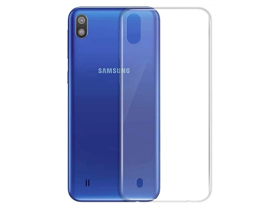 Силиконов гръб за Samsung Galaxy A10 (SM-A105F), Прозрачен