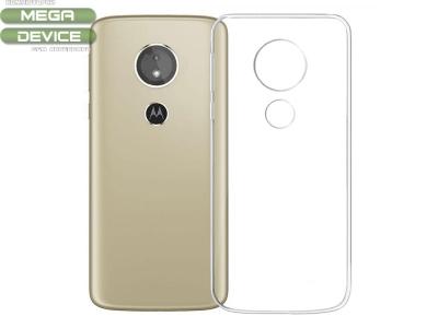 Силиконов гръб за Motorola E5 Play, Прозрачен