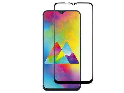 Стъклен Протектор Full Glue 5D за Samsung Galaxy M10, Черен