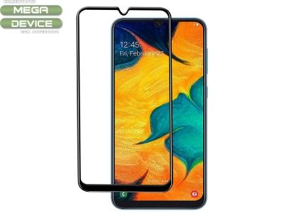 Стъклен Протектор Full Glue 5D за Samsung Galaxy A50/ Galaxy A30s, Черен