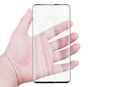 Удароустойчив Протектор Nano 6D  Full за Samsung Galaxy S10, Черен