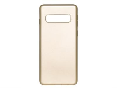 Силиконов Гръб Level - Samsung Galaxy S10 Plus - Gold