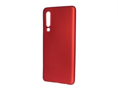 Силиконов Гръб Level за Huawei P30 , Червен
