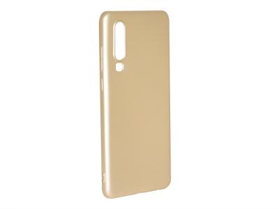 Силиконов Гръб Level за Huawei P30 , Златист