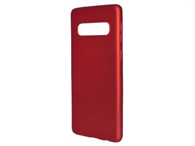 Силиконов Гръб Level за Samsung Galaxy S10 , Червен