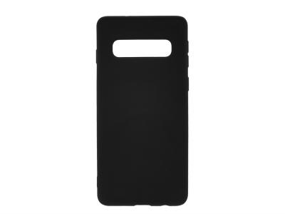Силиконов Гръб Level за Samsung Galaxy S10, Черен
