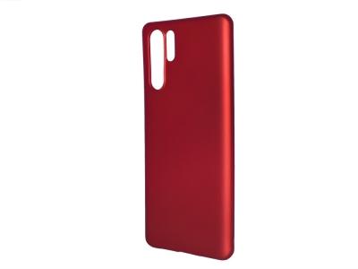 Силиконов Гръб Level за Huawei P30 Pro, Червен
