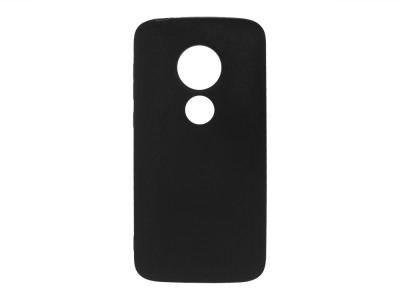Силиконов Гръб Level за Moto E5 Play, Черен