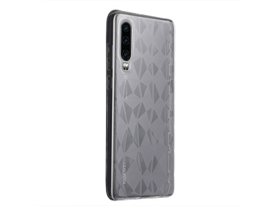 Силиконов гръб PRISM за Huawei P30, Прозрачен