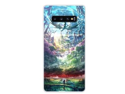 Силиконов Гръб за Samsung Galaxy S10, Дракон