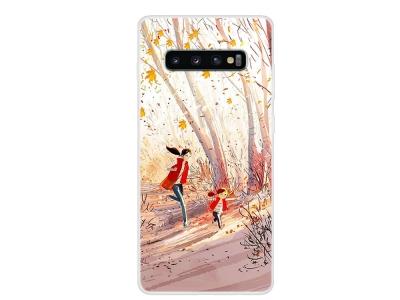 Силиконов Гръб за Samsung Galaxy S10, Радост