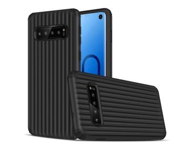 Удароустойчив Гръб Hybrid за Samsung Galaxy S10, Черен