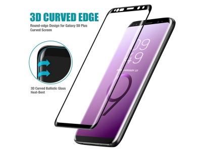 Стъклен Протектор 3D Full - Samsung Galaxy S9 Plus - Black