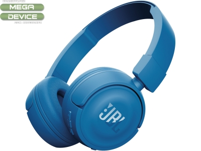 Слушалки Bluethooth JBL T450BT, Син