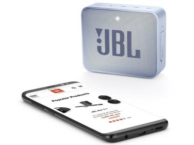 Колонка JBL GO 2, Сребрист