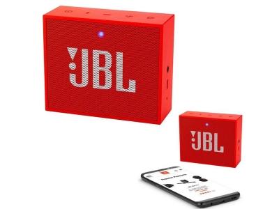 Колонка JBL GO PLUS, Червен