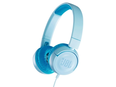 Слушалки за деца без Микрофон JBL JR300, Син
