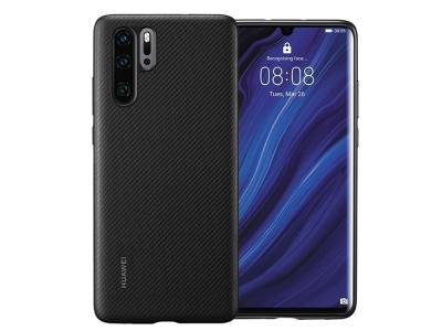 Оригинален Силиконов Гръб за Huawei P30 Pro, Черен