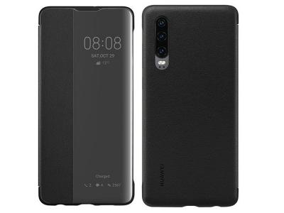 Оригинален Калъф Тефтер за Huawei P30 , Черен