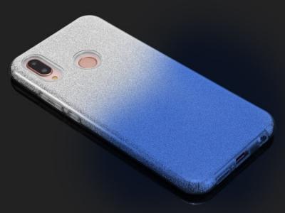 Силиконов Гръб BLING за Huawei Y6 2019, Син