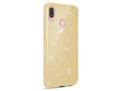 Калъф Гръб SHINING - Huawei Y6 (2019) - Gold