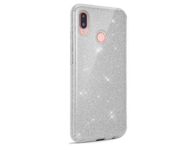 Силиконов Гръб SHINING за Huawei Y6 2019, Сребрист