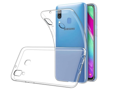 Силиконов гръб за Samsung Galaxy A40, Прозрачен