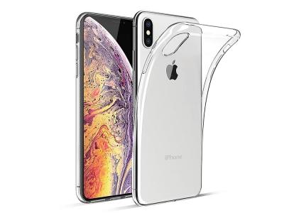 Силиконов гръб за iPhone X / XS, Прозрачен