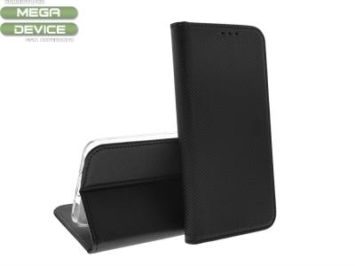 Калъф тефтер Smart Book за Huawei Y6 2019, Черен