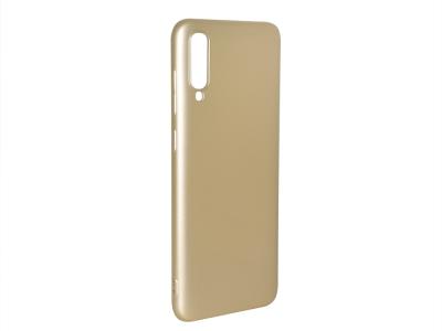 Силиконов Гръб Level за Samsung Galaxy A70 , Златист