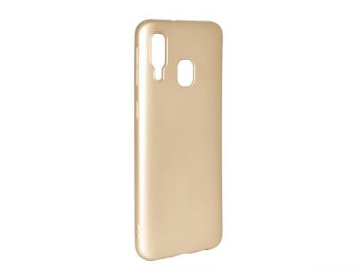 Силиконов Гръб Level за Samsung Galaxy A40, Златист