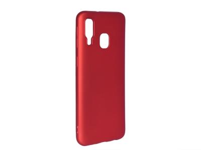 Силиконов Гръб Level за Samsung Galaxy A40, Червен