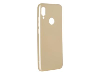 Силиконов Гръб Level за Xiaomi Redmi Note 7, Златист