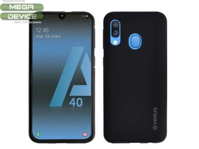 360 Градуса калъф за Samsung Galaxy A40, Черен