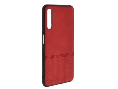 Силиконов гръб Lishen за Samsung Galaxy A7 2018 A750, Червен