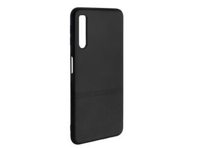 Силиконов гръб Lishen за Samsung Galaxy A7 2018 A750, Черен