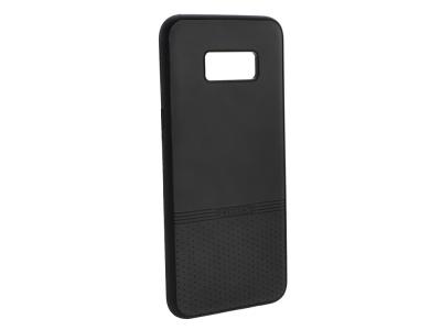 Силиконов гръб Lishen за Samsung Galaxy S8 Plus, Черен