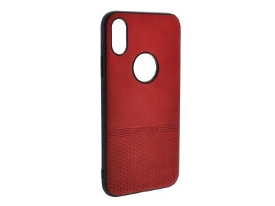 Силиконов гръб Lishen за iPhone X / iPhone Xs, Червен