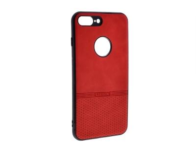 Силиконов гръб Lishen за iPhone 7 Plus/ iPhone 8 Plus, Червен