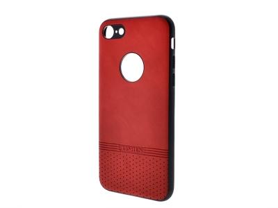 Силиконов гръб Lishen за iPhone 7 / iPhone 8, Червен