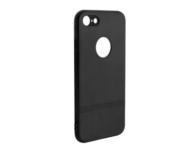 Силиконов гръб Lishen за iPhone 7 / iPhone 8 , Черен