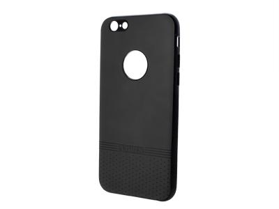 Силиконов гръб Lishen за iPhone 6 / 6S, Черен