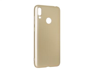 Силиконов Гръб Level за Huawei Y7 2019, Златист