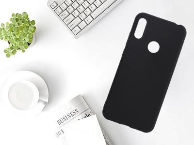 Силиконов Гръб Level за Huawei Y6 2019, Черен