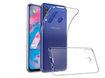 Силиконов гръб за Samsung Galaxy M30, Прозрачен