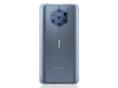 Силиконов гръб за Nokia 9 PureView , Прозрачен