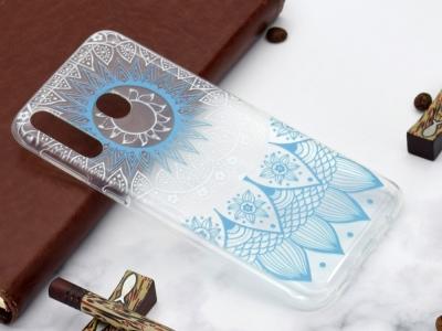 Силиконов Гръб за Xiaomi Redmi 7 / Redmi Y3, Синя Мандала