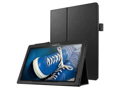 Калъф Тефтер за Таблет Lenovo Tab 3 10.1 TB-X103F, Черен